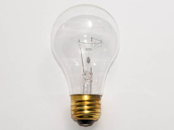 Glass Surface Systems 60A19/CL/5M (Safety) 60A19/CL (5000 Hrs, Safety) 60 Watt, 130 Volt Safety Coated Long Life A19 Frosted Long Life Bulb