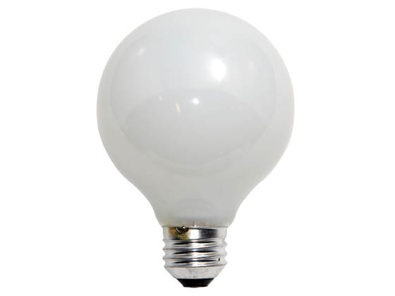 Philips Lighting 167460 40G25/W/LL (120V) Philips 40W 120V G25 White Long Life Globe Bulb, E26 Base