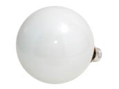 Philips Lighting 168518 60G40/W/LL (120V) Philips 60W 120V G40 White Long Life Globe Bulb, E26 Base