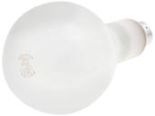 Philips Lighting 143040 200PS30/23 Philips 200W 120V to 130V PS30 Frosted Long Life Bulb, E26 Base