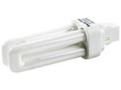 Bulbrite 524123 CF13D830 13W 2 Pin GX232 Soft White Quad Double Twin Tube CFL