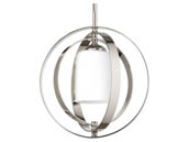 Progress Lighting P7077-104 One-light Small Sphere Foyer Pendant