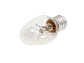 Philips Lighting 373787 7C7 (120-130V, Clear) Philips 7 Watt, 120-130 Volt C7 Clear Night Light Bulb