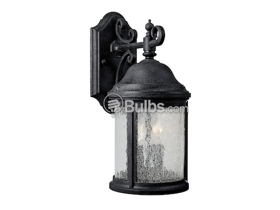 Two Light Outdoor Wall Lantern Ashmore Collection Textured