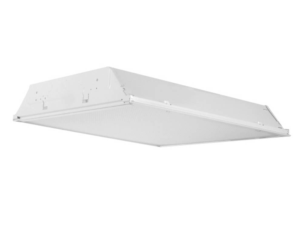 2x4 3 troffer fixture for two f32t8 lamps 24gp232bt2q. Black Bedroom Furniture Sets. Home Design Ideas