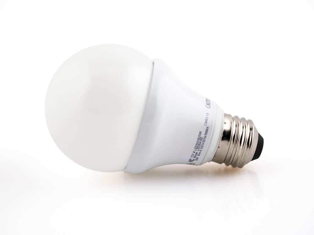 tcp 60 watt incandescent equiv 10 watt 120 volt dimmable 5000k bright whit. Black Bedroom Furniture Sets. Home Design Ideas