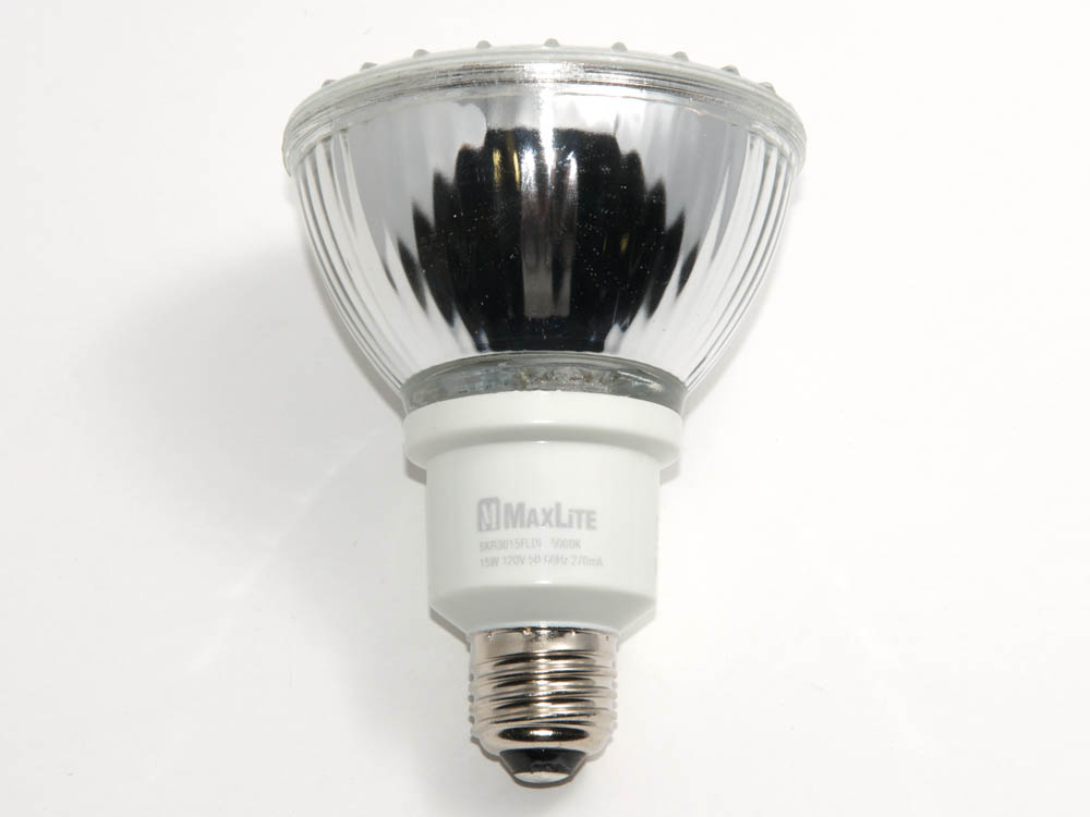 Maxlite 75 Watt Incandescent Equivalent 15 Watt Par30 Daylight Compact Fluorescent Medium Base