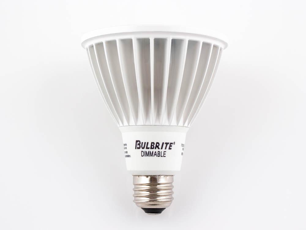 bulbrite 75 watt equivalent 14 watt 120 volt dimmable 4000k 30 degree led par30 l bulb. Black Bedroom Furniture Sets. Home Design Ideas