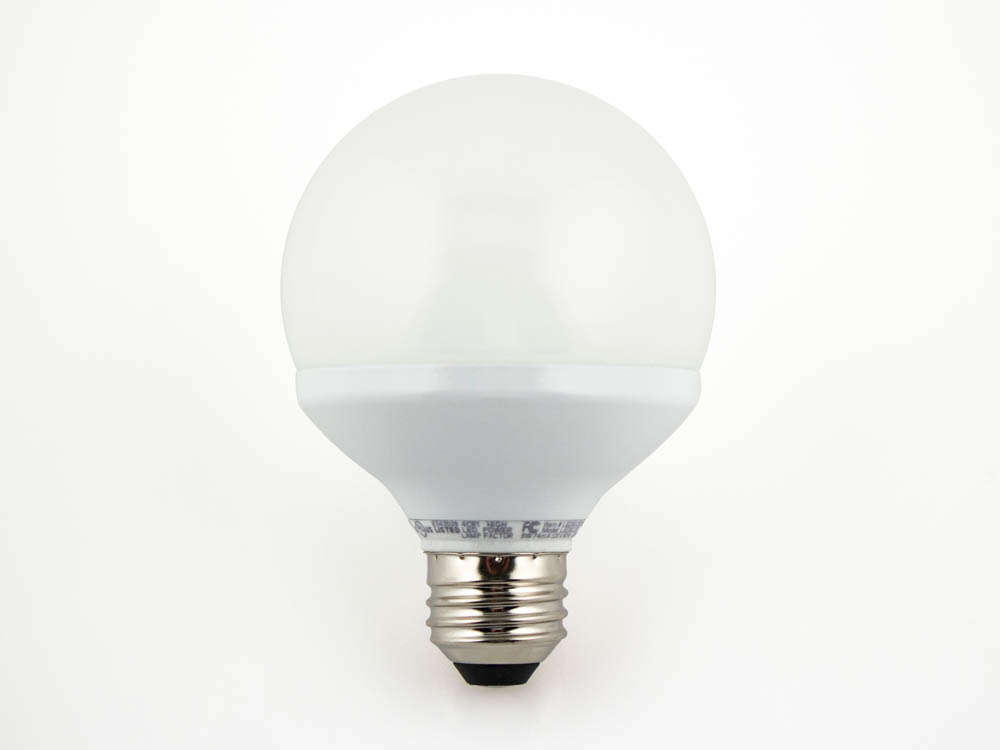 Tcp 60 Watt Incandescent Equivalent 8 Watt 120 Volt Dimmable Led G 25 Globe Bulb