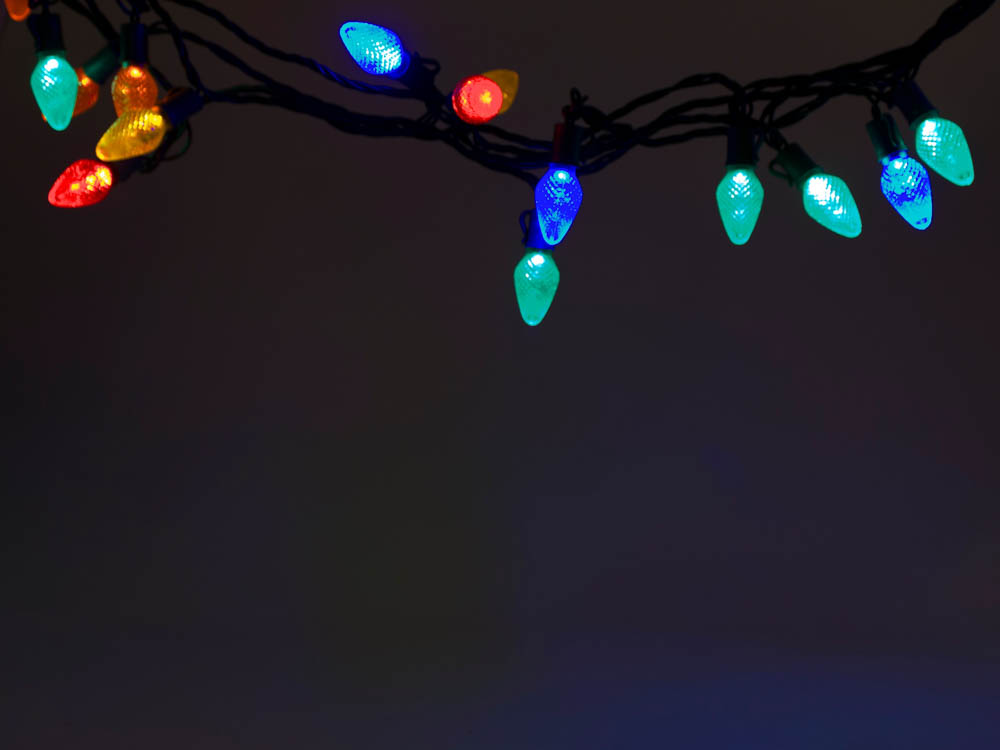led holiday chain lights multi colored c7 bulbs gch c7. Black Bedroom Furniture Sets. Home Design Ideas
