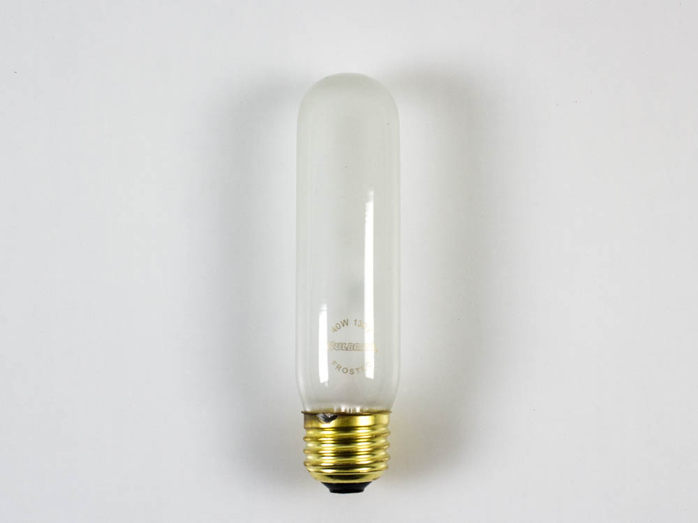 bulbrite 40 watt 130v frosted t10 incandescent lamp. Black Bedroom Furniture Sets. Home Design Ideas