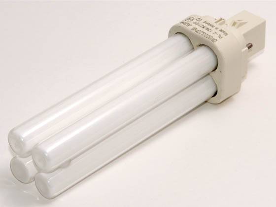 Philips Lighting 383141 PL-C 13W/827/ALTO (2-Pin) Philips 13 Watt 2-Pin Very Warm White Double Twin Tube CFL Bulb