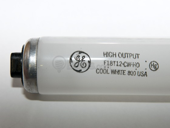 REPLACEMENT BULB FOR GE F18T12//CW//HO 25W
