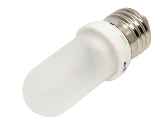 Bulbrite 614072 Q75FR/EDT (Frost) 75W 120V T8 Frosted Halogen Bulb