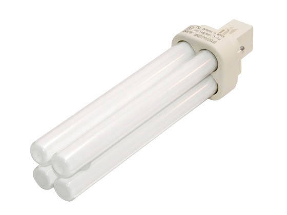 Philips Lighting 383190 PL-C 18W/841/ALTO  (2-Pin) Philips 18W 2 Pin G24d2 Cool White Double Twin Tube CFL Bulb