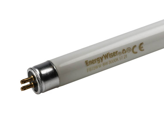 Bulbrite 501008 F8T5/WW 8W 12in T5 Warm White Fluorescent Tube