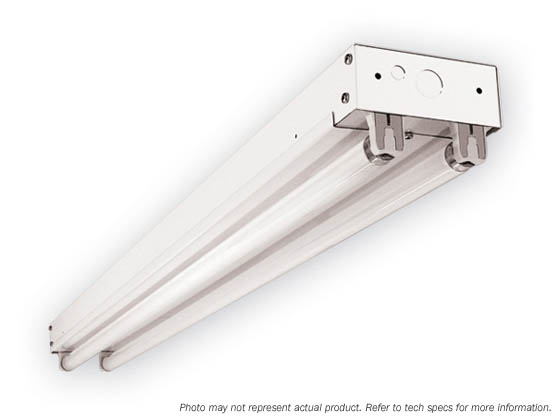 Simkar IE-296-B11-UNIV 8' Striplight Fixture for Two Fluorescent F96T8 Bulbs