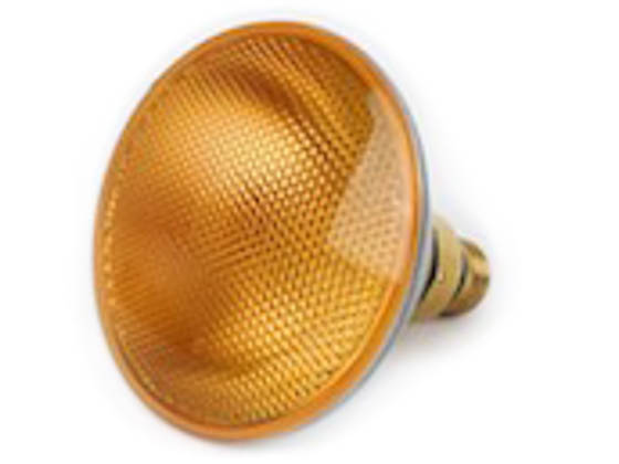 Howard Industries, Inc. W-4414A 4414A  (Amber) 18 Watt, 12.8 Volt Amber PAR36 Turn/Warning Signal Bulb