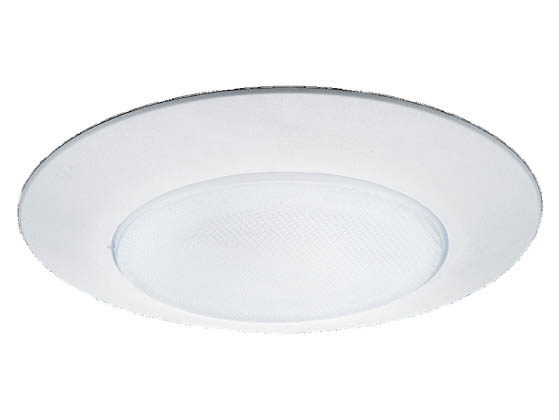 Sea Gull Lighting SGL1133-15 Incandescent White Recessed Trim With a White Finish Glass Diffuser For Shower Light