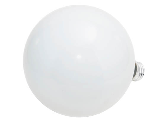 Philips 100w 120v G40 White Long Life Globe Bulb E26 Base
