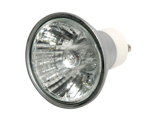 Bulbrite B638051 EXN/GU10/SLV (120V, 3000 Hrs) 50W 120V MR16 Halogen Flood EXN Bulb