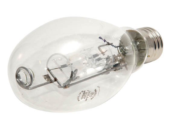 Philips Lighting 281196 MP175/BU Philips 175W Protected Clear ED28 Base up Metal Halide Bulb