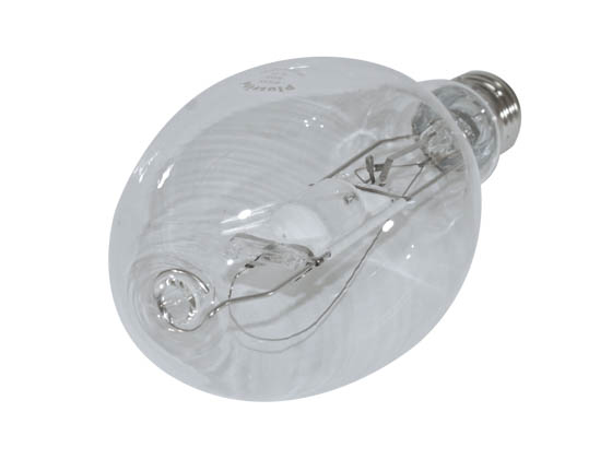 Plusrite FAN1024 MH400/ED37/U/4K 400W Clear ED37 Cool White Metal Halide Bulb
