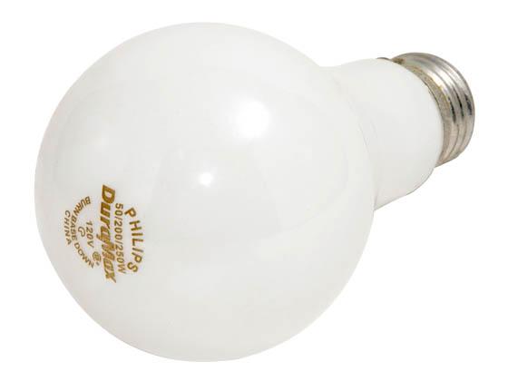 50-200-250 Watt 3-Way Incandescent Light Bulb Soft White Sylvania 19404-50//250A21//W//RP