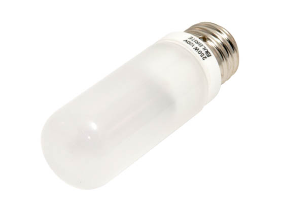 Bulbrite B614252 Q250FR/EDT (Frost) 250W 120V T10 Frosted Halogen Bulb