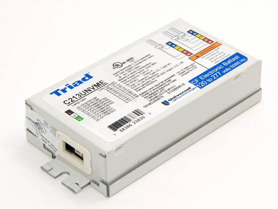 Universal C213UNVME000K Electronic CFL Ballast 120 to 277V for 10W to 16W