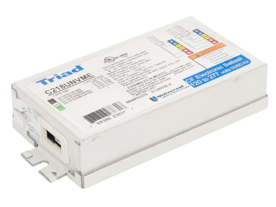 Universal C218UNVME000K Electronic CFL Ballast 120V to 277V for 18W to 21W CFL Bulb