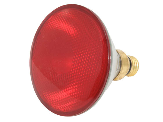 Bulbrite B683907 H90PAR38R (Red) 90W 120V PAR38 Halogen Red Bulb