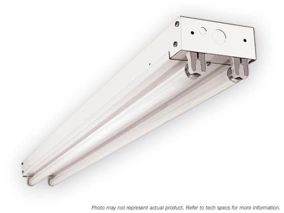 Simkar HO-IE-296-B11-UNIV IE296HO-B11-UNIV 8' Striplight Fixture for Two Fluorescent F96T8HO Bulbs