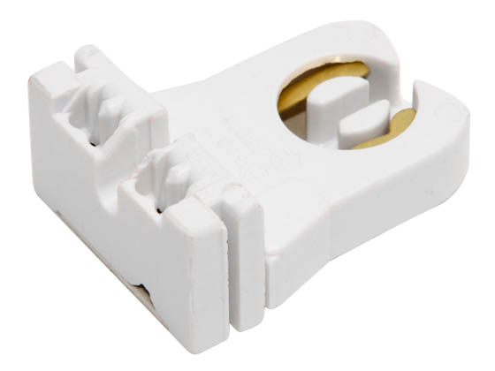 Leviton L13351-U Medium Bi-pin Socket Short Unshunted Short Medium Bipin Fluorescent Socket