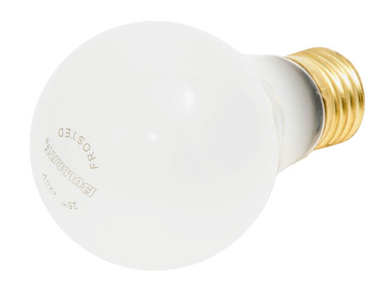 Bulbrite 120025 25A/220 (220V) 25W 220V A19 Frosted High Voltage E26 Base