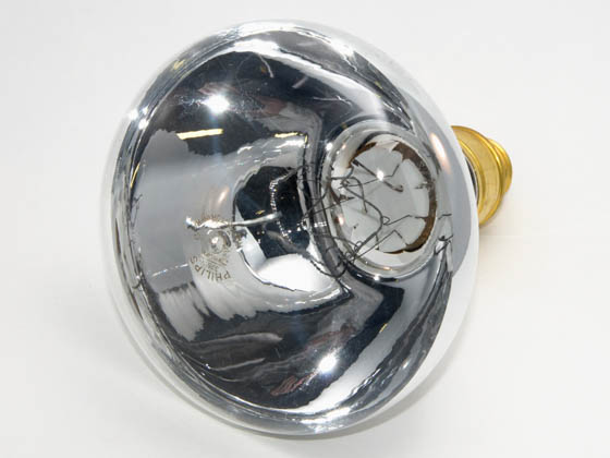 Philips Lighting 145748 375R40/1 Discontinued Philips 375 Watt, 120 Volt BR40 Clear Heat Lamp Reflector Bulb