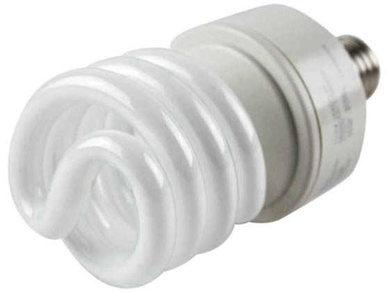 TCP TEC28927277 TCP 28927277 27W 277V Warm White Spiral CFL Bulb, E26 Base