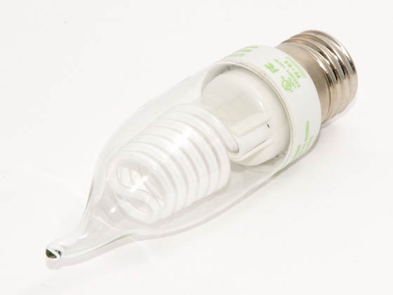 Litetronics MB-543DP 5W/C11/CL/PW/BT 120V 30 Watt Incandescent Equivalent, 5 Watt, Clear Cover C11 Cold DIMMABLE/FLASHABLE Cathode Bulb