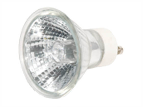 Plusrite FAN3463 JDR50/FL/GU10 50W 120V MR16 Halogen Narrow Flood EXN Bulb
