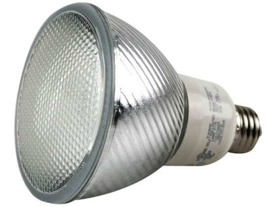 TCP TECPF3016-30 PF301630K 16W Wet Location PAR30 Soft White CFL Bulb, E26 Base