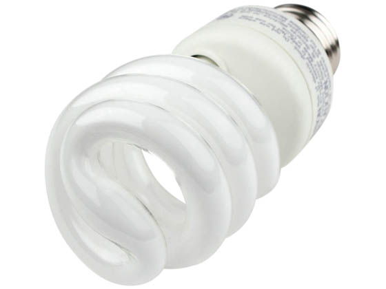 TCP TEC801014 TCP 801014 14W Warm White Spiral CFL Bulb, E26 Base
