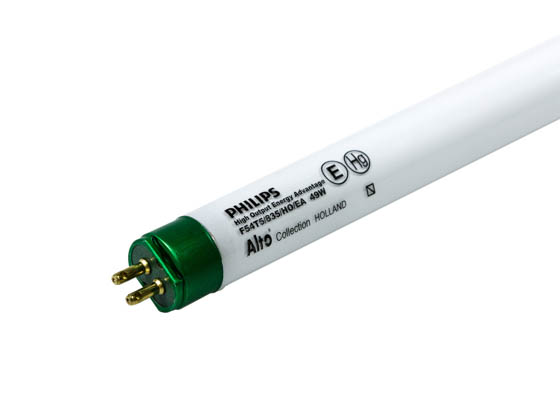 Philips Lighting 220509 F54T5/835/HO/EA/ALTO 49W Philips 49W 46in T5 High Output Neutral White Fluorescent Tube