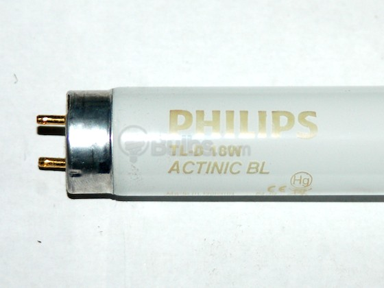 Philips Lighting 263254 40 Actinic BL 18W (F18T8/BL) Philips 18W 24in T8 Black Light Fluorescent Tube