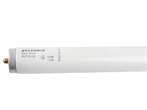 Sylvania SYL26403 F64T12/CW 51 Watt, 64 Inch T12 Single Pin Cool White Fluorescent Bulb.  BACKORDERS WILL BE CANCELLED.