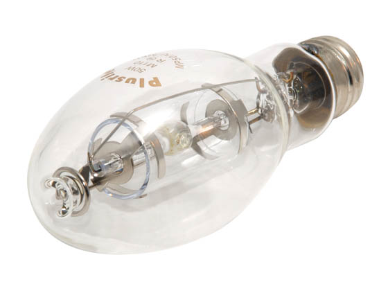 Plusrite FAN1031 MP50/ED17/U/4K 50W Clear ED17 Protected Cool White Metal Halide Bulb