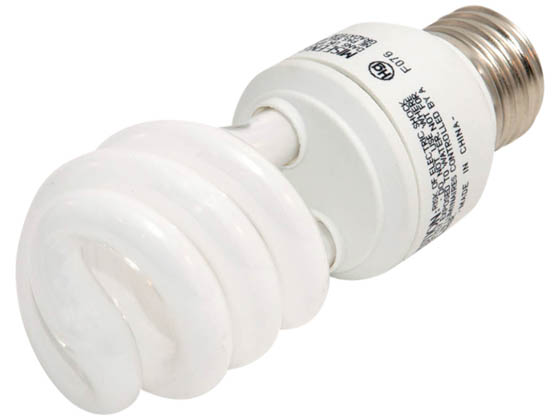 TCP TEC80102741 80102741K 27W Cool White Spiral CFL Bulb, E26 Base
