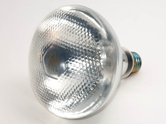 Glass Surface Systems GSS63050-TEF 150BR38/FL/130V (UNIPAR, Teflon Coated) 150 Watt, 130 Volt PTFE Safety Coated ONE PIECE BR-38 Flood. WARNING:  THIS BULB IS NOT TO BE USED NEAR LIVE BIRDS.