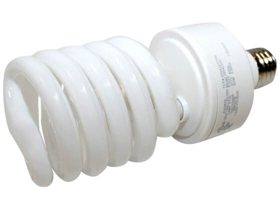 TCP TEC28942-277-51K 2894227751K 42W 277V Bright White Spiral CFL Bulb, E26 Base