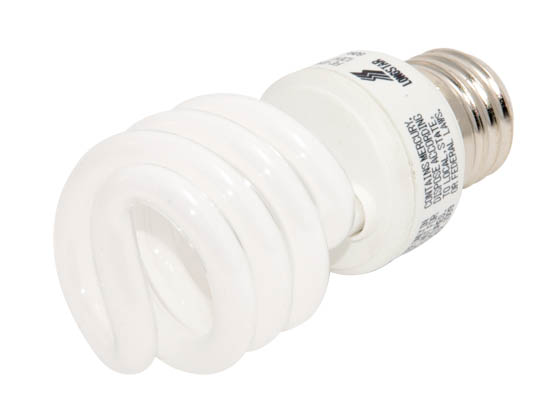 Longstar FE-IISB-14W/27K Long Star 14W 120V Warm White CFL Bulb, E26 Base