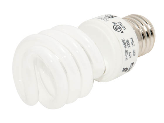 Longstar FE-IISB-14W/50K Long Star 14W 120V Bright White CFL Bulb, E26 Base